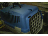 Pet carrier box cage