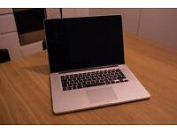"2013 15"" Macbook Pro Retina 2.8ghz i7 768GB SSD 16GB RAM Top Spec Immaculate Condition"