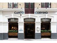 Restaurant Receptionist - Spitalfields/Liverpool St E1