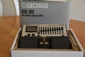 BOSS EQ-20 Graphic Equalizer