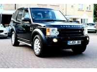 LAND ROVER DISCOVERY 3 2.7 TDV6 SE AUTO 5DR FSH SATNAV CREAM LEATHER HPI CLEAR EXCELLENT CONDITION