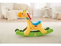 Fisher-Price Rocking Tunes Giraffe Without box RRP - £44.99,SELLING FOR £9.99