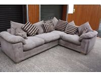 Fabric corner suite. good condition. FREE DELIVERY IN BELFAST!