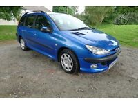 PEUGEOT 207 SW ESTATE 1.4 HDI 2005 05 £30 A YEAR TAX PRICE TO SELL £495 NO OFFER