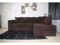 SIZZILING SALE ON ** BRANDED NEW BYRON JUMBO CORDED ** CORNER SOFA OR 3+2 SOFA SET AVAILABLE NOW