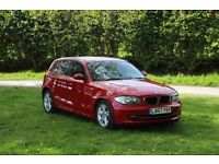 BMW 1 Series 120i SE, 12 months MOT, Warranty