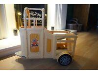 Barbie Horse trailer / box