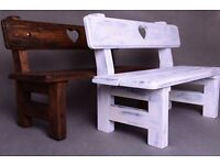 Wood Bench Photography Prop, Newborn Baby Toddler Photographer, Outdoor Photo Shoots COLORS