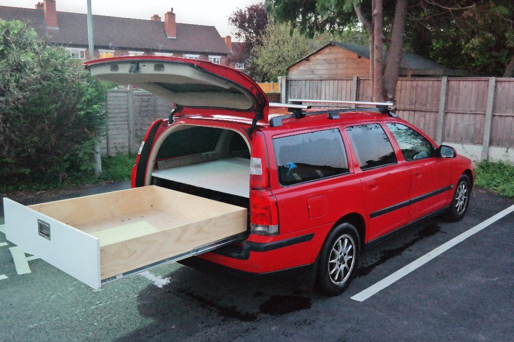 Volvo v70 one of a kind bed slider drawer in hereford for One of a kind beds