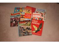 Collection of Old Books (Including Eagle Annuals, Science, Book for Boys)