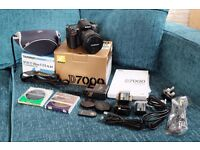 Nikon D7000 DSLR camera with Tamron 17-50mm f2.8