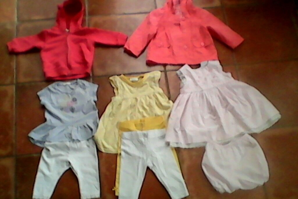 3-6 mths Girl's Bennetton/Next outfits in Immaculate Condition
