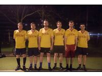 KENNINGTON 5 A-SIDE FOOTBALL LEAGUE - £35 - BEST PRICES IN LONDON
