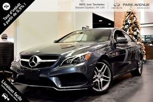 2014 Mercedes-Benz E-Class E350 COUPE AMG-PACKAGE**réservé**