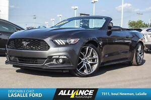 2015 Ford Mustang EcoBoost Premium-DECAPOTABLE-CUIR-BANC CHAUFF