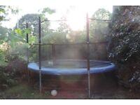 Very large garden trampoline - free