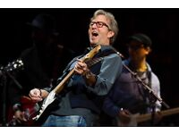 ERIC CLAPTON LIVE @THE ROYAL ALBERT HALL TICKETS FOR SALE