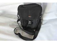 Lowepro camera bag for DSLR camera.