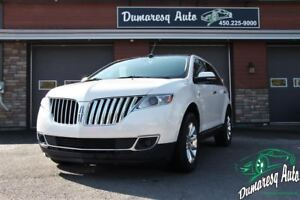 2014 Lincoln MKX MKX AWD TOIT PANORAMIQUE+GPS+BLANC PERLE