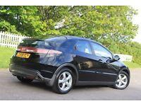 HONDA CIVIC 1.8 i-VTEC SE Hatchback 5dr (black) 2009