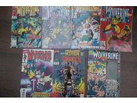 7 RARE WOLVERINE COMICS WEAPON X #75 HOLOGRAPH COVER SABRETOOTH