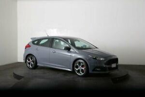 2015 Ford Focus LZ ST Grey 6 Speed Manual Hatchback McGraths Hill Hawkesbury Area Preview