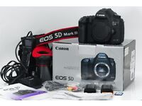 Canon 5D mark III along with video and time-lapse bundle