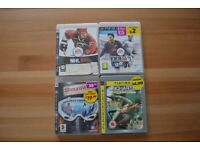 Four Classic Playstation 3 Games Including FIFA 2014, Shaun White Snowboarding, and Unchartered