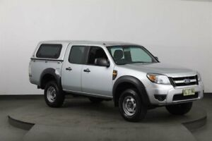 2011 Ford Ranger PK XL (4x2) Silver 5 Speed Automatic Dual Cab Pick-up