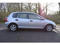 HONDA CIVIC SE EXECUTIVE 1.6 CHEAP , AC, BARGAIN AT THIS PRICE !!! NEW MOT