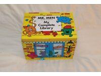 Fantastic box set 46 books Mr. Men My Complete Library plus bonus Mr Men book