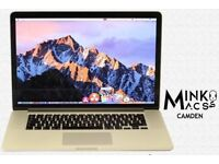 15.4' APPLE RETINA MACBOOK PRO 2.4Ghz i7 Quad Core 8GB 250GB SSD Capture One 10 Vectorworks AutoCad