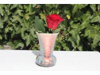Old Vintage Sylvac Flower Vase Marble Effect 13cm High
