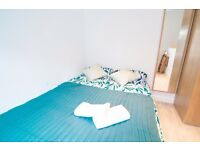 SHORT LET 1 month ALL BILLS included W14 Double studio with separate kitchen £390 pw