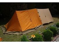 Vango Force 10 mk4 Standard with bespoke canvas extension