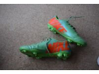 "Nike ""Mercurial"" football boots, size 8.5"