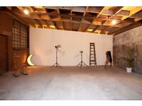 London Photography Studio hire,£100 per day,Photography,Film,Video,Castings,Industrial Warehouse