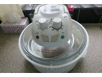 halogen cooker ,used only few times ,all accessoriess included