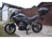 Honda CB500X Fantastic first bike only 10,846 miles