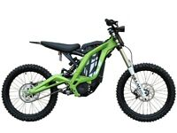 SUR-ron ELECTRIC HI PERFORMANCE DIRT BIKE