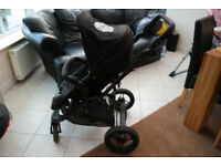 Obaby travel system- 3 piece set: pushchair, pram, car seat