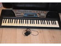 YAMAHA PSR-170 KEYBOARD 61 KEYS WITH POWER ADAPTER CAN SEE WORKING