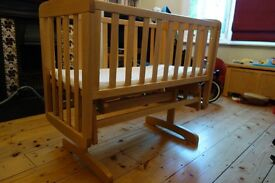 Mamas and Papas Cot (rocking or static)
