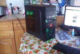 Gaming PC case Chassis AVP Warrior USB 3 0 card reader fan