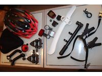 Great Deal!! Bike's accessories excellent pack.