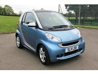 Smart ForTwo Pulse MHD Auto with New MOT 70 MPG Free Road Tax