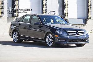 2013 Mercedes-Benz C300 4MATIC Premium & Sport Package
