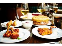 Experienced Waiter - Gymkhana. Up to £9.50ph, Michelin Starred and Sundays OFF