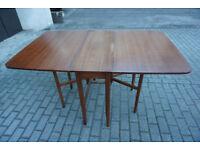 Vintage Gate Leg Table Folding Drop Leaf Table LOW COST DELIVERY CENTRAL EDINBURGH