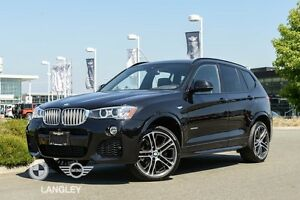2017 BMW X3 xDrive35i M Sport Line and Premium Package ENHANCED!